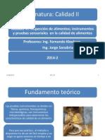 Modulo 4 - Inspeccion, Instrumentos y Pruebas Sensoriales