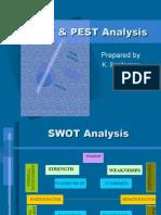 Swot & Pest Analysis