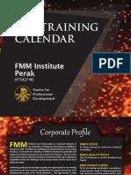2013 Training Calendar 2