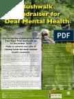 Deaf Bushwalk FundraiserFlyer2014