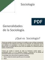 PRIMERA CLASE Sociologia y Sociedad