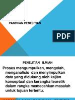 PANDUAN PENELITIAN