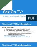 sex on tv presentation