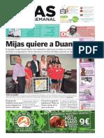 Mijas Semanal Nº599 Del 5 al 11 de septiembre de 2014