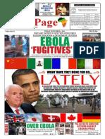Friday, September 05, 2014 Edition