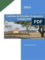 Caderno de Dúvidas Frequentes Estágio UFG