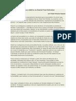 Sergio Hinojosa Aguayo - Drama y Delirio en Daniel Paul Schreber