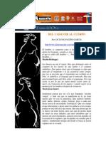 UACM - Letras Ausentes - Del Cadáver Al Cuerpo