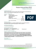 Potassium Hydroxide Pellets NF FCC PDS (1)