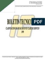 Boletín Técnico 5-99 Clasificacion Grúas CMAA