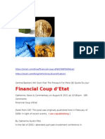 Catherine Austin Fitts Financial Coup d'Etat