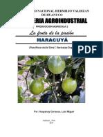 Informe - Fruta de La Pasion 2014 Produccion Agricola