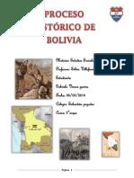Proceso Historico de Bolivia Gabriela V.