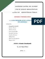 Caracteristicas de La Burocracia Ecuatoria