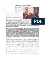 Acuerdo de La Paz en Guatemala
