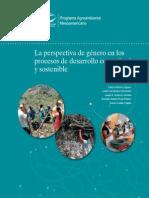 La perspectiva de género en los procesos de desarrollo comunitario y sostenible