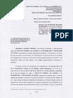 12 Recursos de Revision IFAI MPF y PGR