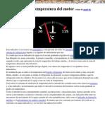 Manual Mecanica Automotriz Indicador Temperatura Motor