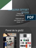 Maquina Offset Gto52