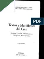 Textos y Manifiestos Del Cine, Expresionismo Alemán
