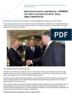 Vladimir Putin Pregăteşte Terenul Pentru Operaţiunea CRIMEEA 2 - Trebuie Creat Un Nou Stat În Sud-estul Ucrainei. Garry Kasparov - ESTE RĂZBOI, PROSTULE