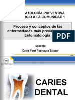 Clase 3 Enf  mas prevalentes- Caries Dental