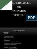 Bombeo Hidráulico Tipo Jet y Tipo Piston