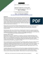 Program Management 7