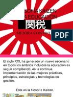 Filosofía Kaizen en La Educación