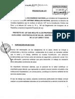 Proyecto Ley en Beneficio Del Tecnico Asistencial 02399-210613