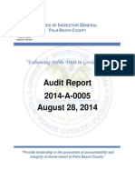 Oig Belle Glade Audit 2014