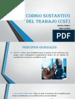 Presentacion Codigo Sustantivo Del Trabajo (Cst)