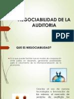 Negociabilidad de La Auditoria Presentacion (2)