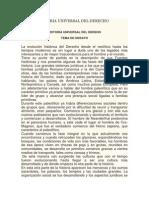 Ensayo Historia Universal Del Derecho