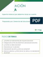 Presentación Declaración de Renta (Junio de 2014)