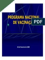 Vacinaçao - Programa Nacional