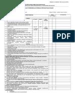 Checklist Pendaftaran Baru