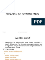 Creacion de Eventos-libre