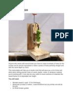 Drill Press For