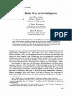 Willerman Et Al 91 Brain Size-IQ