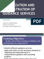 Guidance Services (Net)