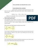 Reaksi Oksidasi Pada Alkohol Dan Reaksi Pada Asam Karboksilat