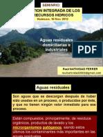 1. Agua Residual Domiciliario e Industrial