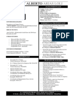 Curriculum Vitae - Freddy Arias Loli 46649185