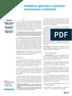 Geoestadística Aplicada a Estudios de Contaminación Ambiental