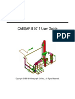 Caesar II 2011 User Guide