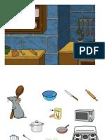 Comprensión de Órdenes Cocinando Con Ratatouille