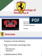 HW1 Ferrari FINAL