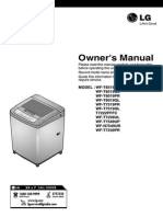Lg fuzzy logic user manual | washing machine | laundry.