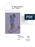 Prosthesis for Tibial Amputees Focused on the 3rd World